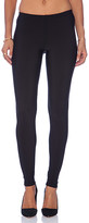 Plush Matte Spandex Fleece Lined Legging