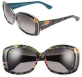 Maui Jim Women's You Move Me 60Mm Polarizedplus2 Sunglasses - Navy/ White/ Silk