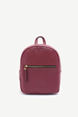Ardene Basic Faux Leather Backpack