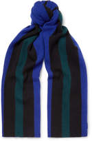 Acne Studios - Ninos Striped Wool Scarf