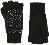Accessorize Foiled Capped Gloves