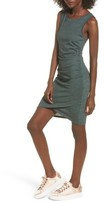 Leith Women's Ruched Body-Con Tank Dress