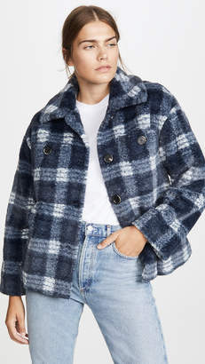 GOEN.J Plaid jacket