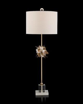 "John-Richard Collection 36.5"" Gold Buffet Lamp"