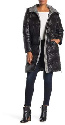 French Connection Hooded Puffer Coat