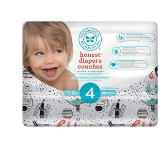 The Honest Company Diapers Size 4 Space Travel