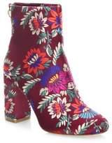 Joie Saleema Brocade Leather Ankle Boots