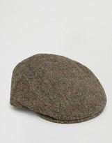 Asos Harris Tweed Flat Cap