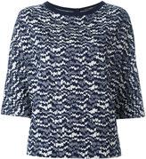 Odeeh intarsia knit jumper
