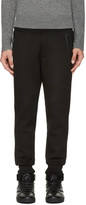DSQUARED2 Black Fleece Lounge Pants