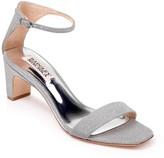 Badgley Mischka Aida Sparkly Block Heel Sandal