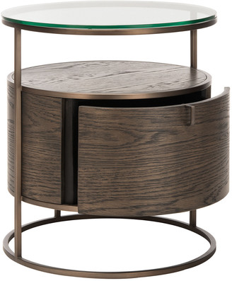 Safavieh Couture Rodgers Round 1-Drawer Nightstand