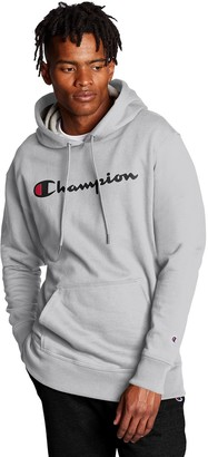 Champion Men's Logo Pullover Hoodie
