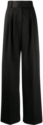 Styland Wide-Leg Cotton Trousers