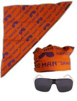 Macho Man Randy Savage Colored Costume Glasses Bandana