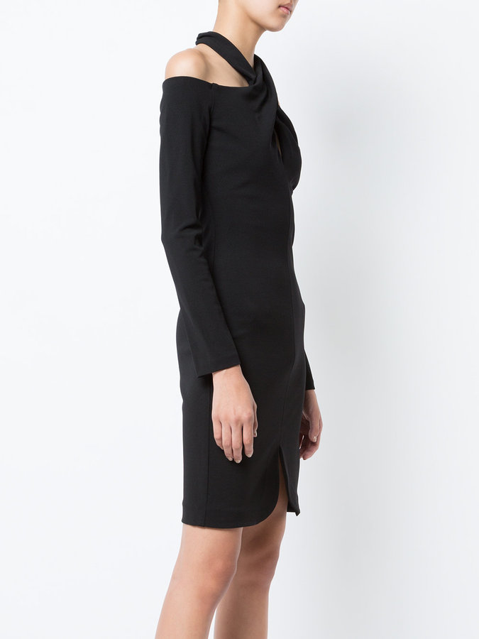 Nicole Miller halterneck dress