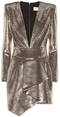 Alexandre Vauthier Sequined minidress