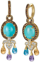 LeVian Le Vian® Multi-Gemstone Drop Earrings (11 ct. t.w.) in 14k Gold
