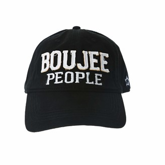 Pavilion Gift Company Boujee People-White Adjustable Snapback Baseball Hat