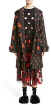 Simone Rocha Women's Floral Embroidered Cloque Parka