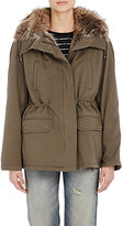 Army by Yves Salomon Women's Fur-Lined Short Parka