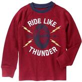Gymboree Cabernet 'Ride Like Thunder' Tee - Boys