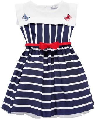 MonnaLisa Striped Viscose Dress