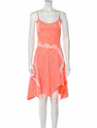 Koché 2019 Knee-Length Dress w/ Tags Orange
