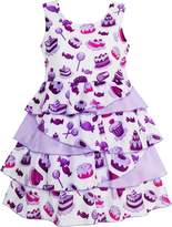 Sunny Fashion HR95 Girls Dress Cake Candy Birthday Layered Tulle