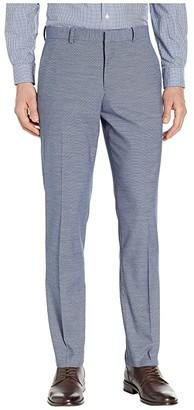 Perry Ellis Portfolio Slim Fit Stretch Horizontal Striple Tonal Dress Pants