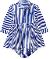 Ralph Lauren Striped Pima Dress & Bloomer