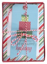 Paper Magic 12ct Cards Packages Holiday Boxed Cards