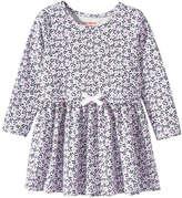 Joe Fresh Toddler Girls' Crew Neck Print Dress, Pale Purple (Size 3)