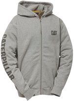 Caterpillar Men's Full-Zip Logo Hooded Sweatshirt