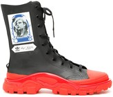 Adidas By Raf Simons Detroit High Top Sneakers