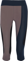 NO KA 'OI No Ka'Oi Elima color-block stretch-jersey leggings