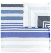 Sonia Rykiel striped scarf - women - Silk/Cotton/Wool - One Size
