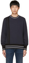 Diesel Black Gold Navy Tape Sweatshirt