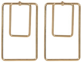 Argentovivo Double Open Rectangle Earrings