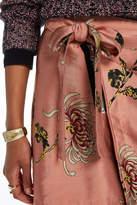 Maison Scotch Zipped Wrap Skirt