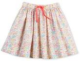 Petit Bateau Girls petticoat-style floral print skirt