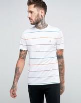 Original Penguin Birdseye Colourblock Long Line T-shirt