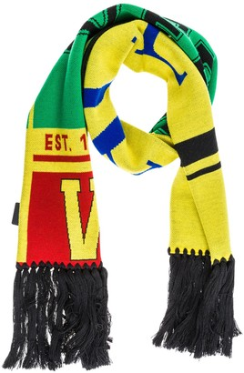 Versace Fringed Scarf