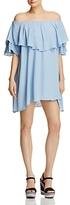 MLM Label Maison Off-The-Shoulder Mini Dress