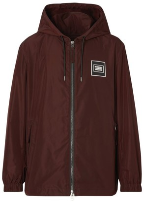 Burberry Hooded Logo Jacket