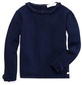Tartine et Chocolat Girls' Wool Bow Detail Sweater - Little Kid Months