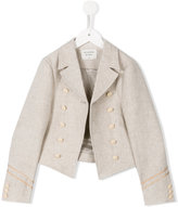 Les Coyotes De Paris - Ameli jacket - kids - Linen/Flax - 10 yrs
