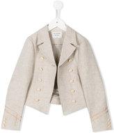 Les Coyotes De Paris - Ameli jacket - kids - Linen/Flax - 8 yrs