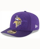 New Era Minnesota Vikings Sideline Low Profile 59FIFTY Cap