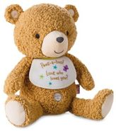 Hallmark Baby Recordable Bear Plush Stuffed Animal in Brown